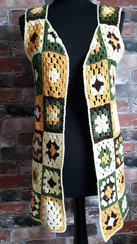 1970's Crochet Vest