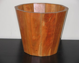 Solid Wood Wine Bucket