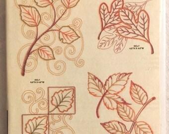 "Anita Goodesign ""LEAVES"" 22 Embroidery Designs CD"