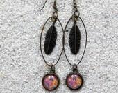 """earrings """"Louise"""" - Pink Indies design"""