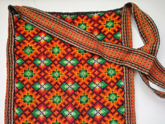 Embroidered hobo bag Vintage shoulder bag Bohemian tote bag  0d1eec410faa1