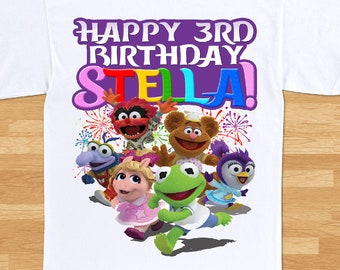 Muppet Babies Birthday T-Shirt