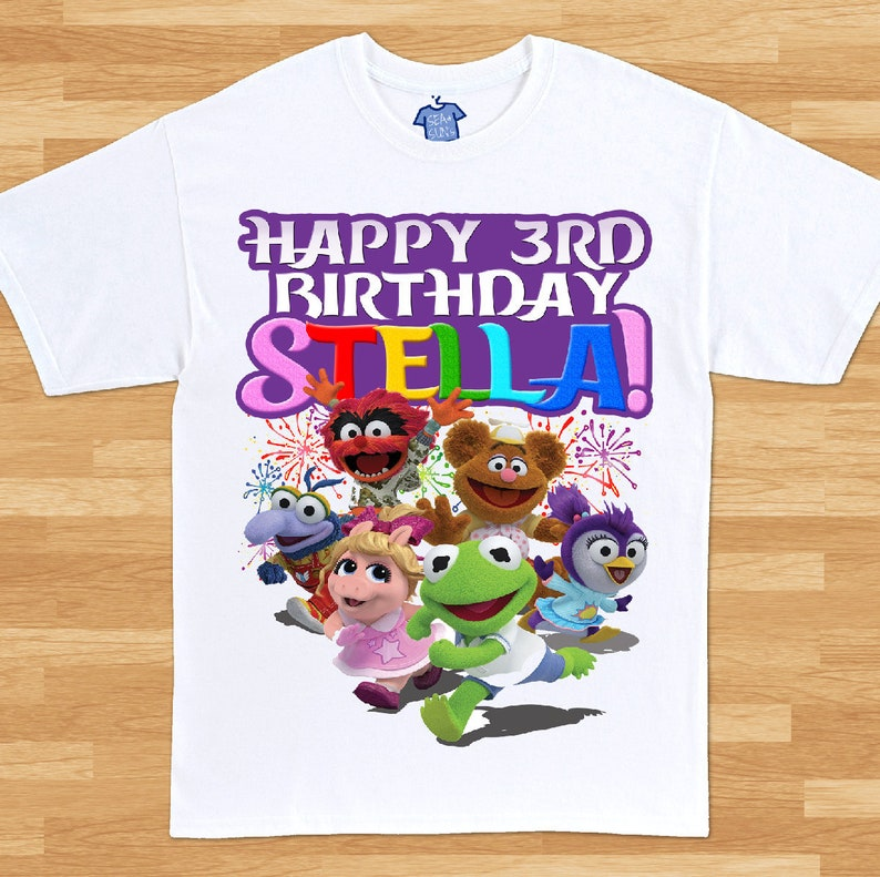 Muppet Babies Birthday T Shirt