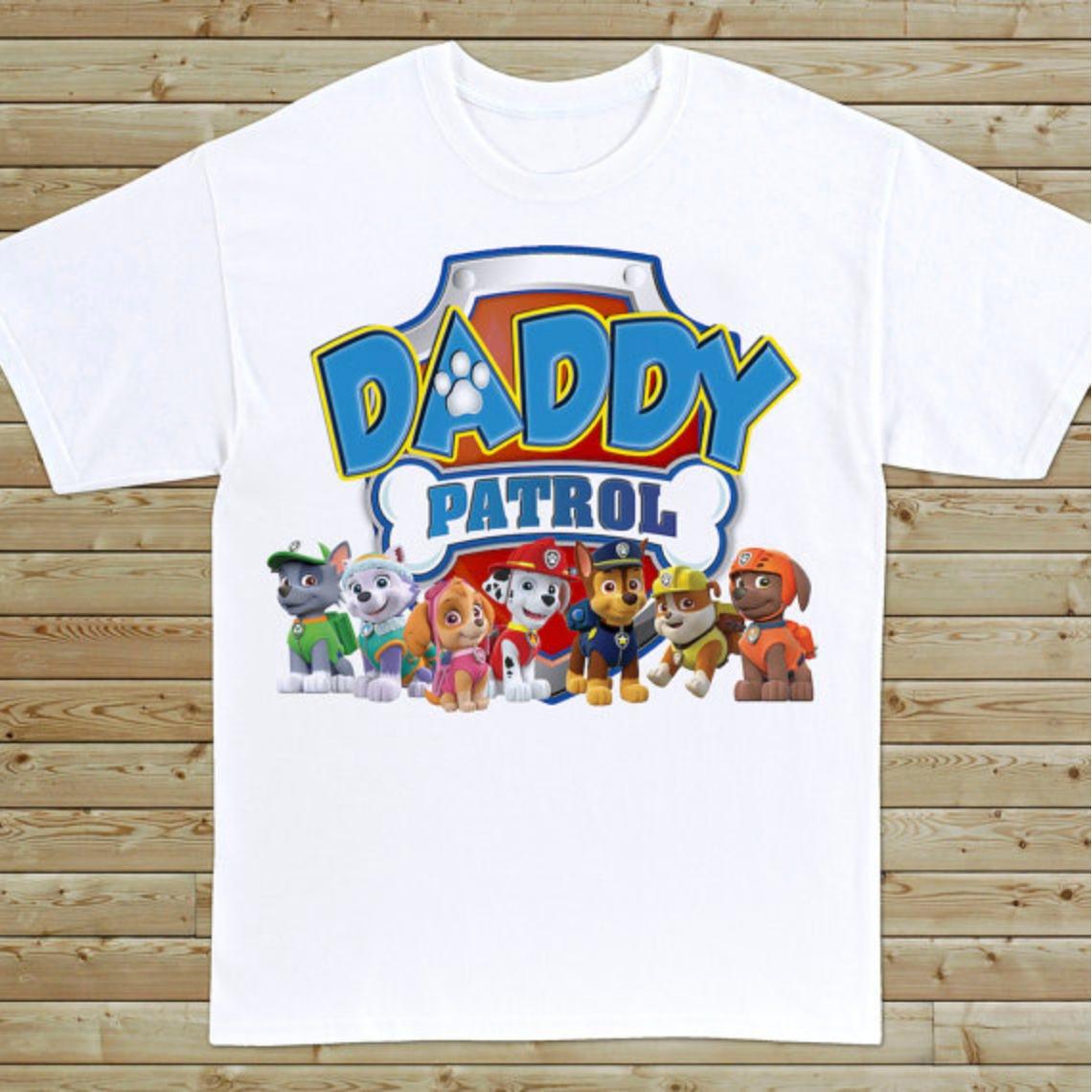Paw Patrol T-Shirt Dad  5f09d601a3f