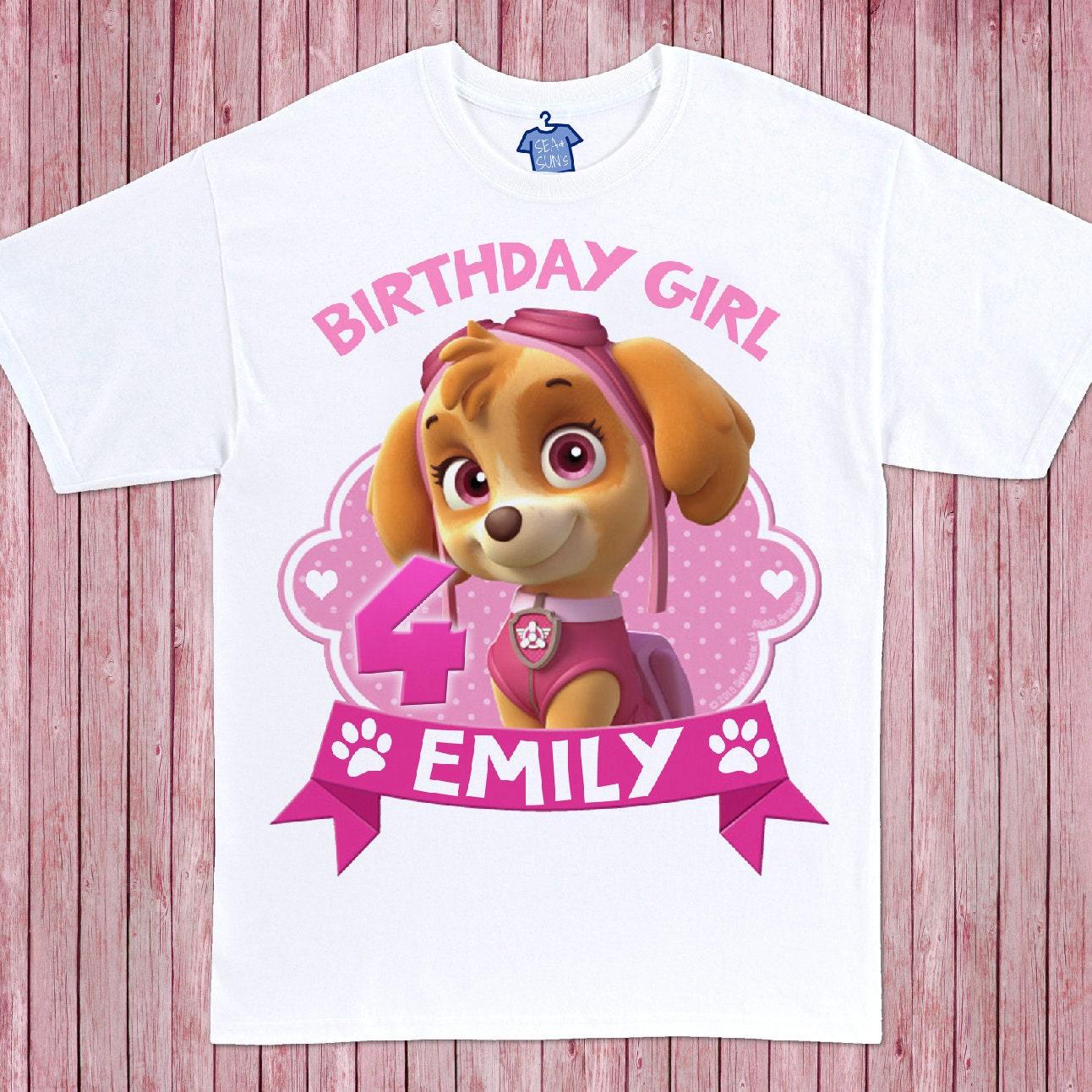 Skye Birthday Shirt