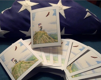 Eagle THANK YOU Notecards, pack of 20