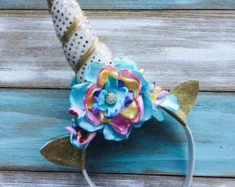 Unicorn Headband, Photo  Prop, Birthday Party, Dress up, Party Favors, Unicorn, Fantasy, Magical