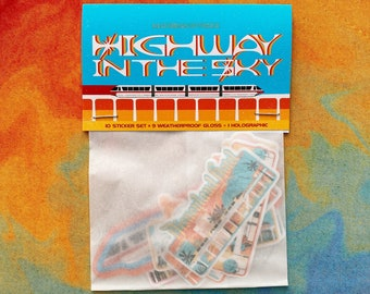 Highway in the Sky - Sticker Pack