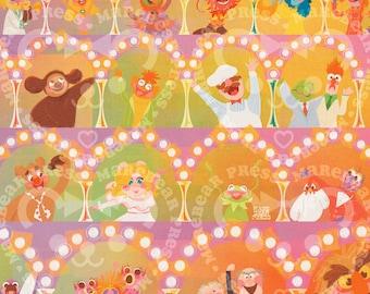 The most Sensational, Inspirational, Celebrational, Muppetational - Art Print