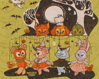 Trick Or Treat - Halloween Time - Art Print - Duffy and Friends
