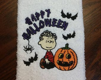 Happy Halloween Hand Towel
