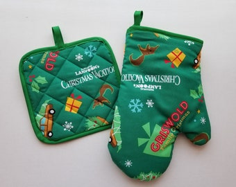 National Lampoons Christmas Vacation-Oven Mitt and Hot Pad