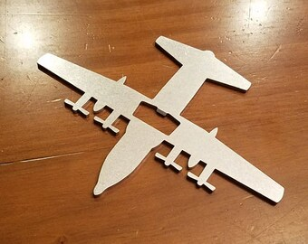 C-130 / C-130E / C-130H / C-130T / LC-130  Hercules Aircraft Bottle Opener - Aviation - Pilot Gift