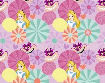 Disney Alice And Wonderland Cotton Fabric