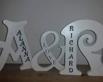 Engraved names for your top table