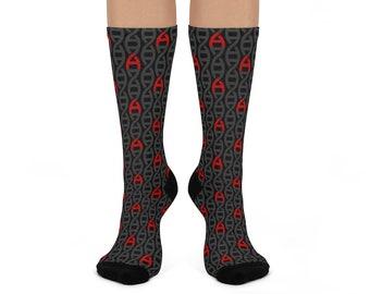 Atheist DNA Pattern Dress Socks