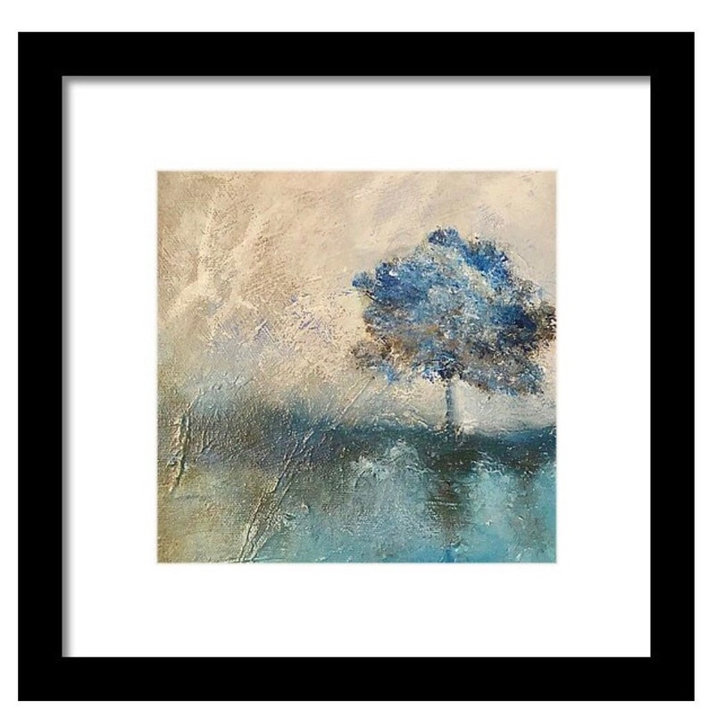 wall decor Original painting art for framing wall art tree art nature painting moody art landscape art tree painting