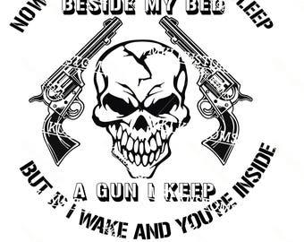 Gun Man Svg/ Gunmans Prayer/ Gun Svg/ Skull Svg/ Dont Tread On Me Svg/ 2nd Amendment Svg/ Second Amendment Svg/ Gun Rights/ Patriotic Svg/
