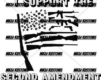 Patriotic Svg/2nd Amendment Svg/Patriotic Vector/4th of July Svg Files/Cricut Files Svg/Gun Svg Files/ Merica Svg/ Dont Tread On Me Svg