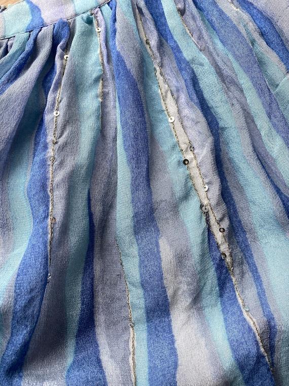 Vintage Ritu Kumar silk midi skirt // Vintage ind… - image 10
