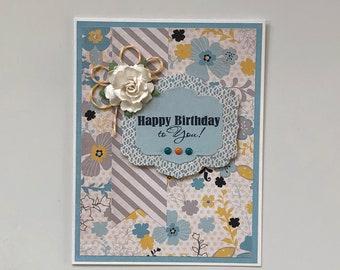 Happy Birthday//Birthday Wishes//Blank Inside