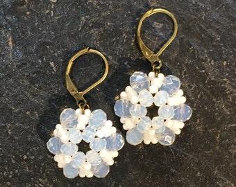 Handgemachte / Handgemacht Perlen Ohrringe aus Toho Perlen.