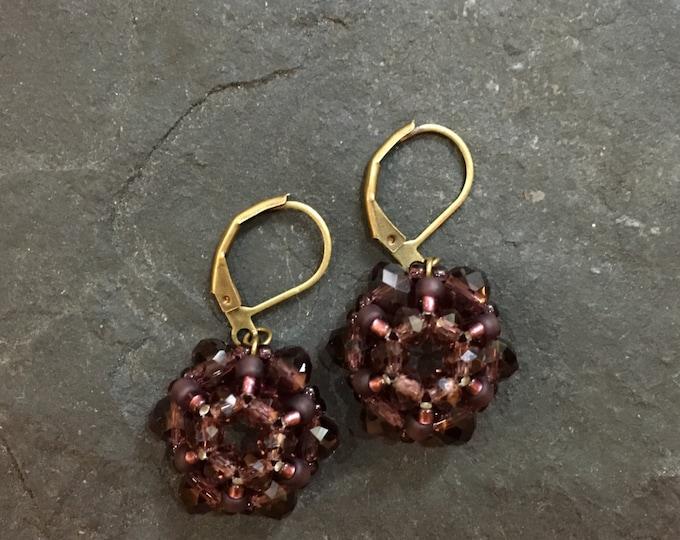 Handgemachte / Handgemacht Perlen Ohrringe aus Toho Perlen. Blei und Nickelfrei.