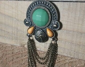 Tribal Chains Pendant Necklace