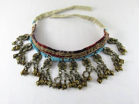 Kuchi choker necklace - Kuchi charms, pendants - A