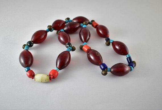 Antique Nagaland necklace - Antique Nagaland beads