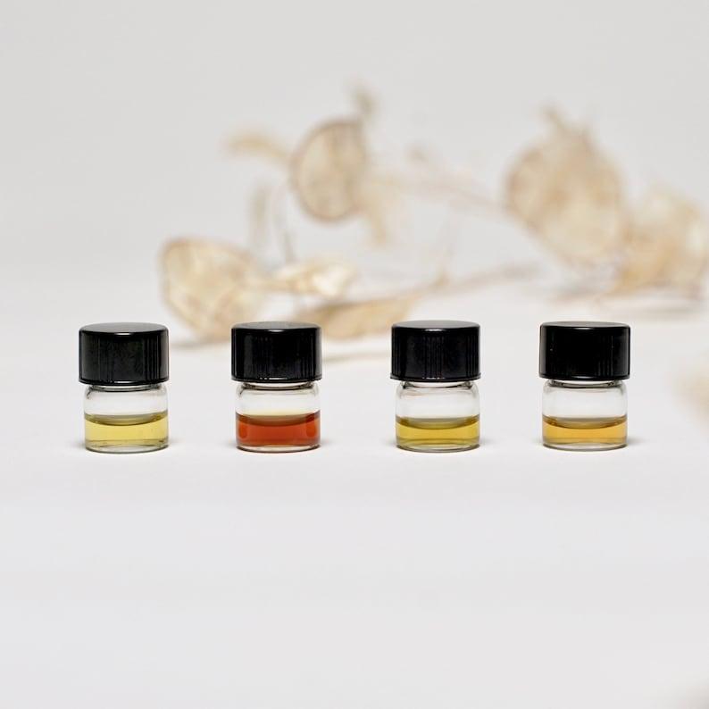 Natural Perfume Sample Set  4 x 1 ml image 0