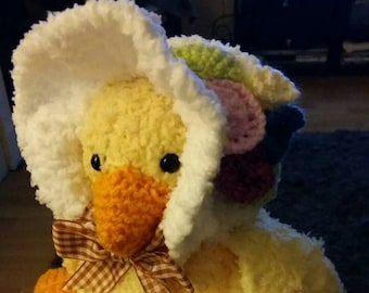 Teddy duck handmade