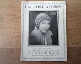 Hats, Berets and scarves....1930's