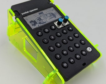 Pocket Operator Single Stand - Special Fluorescent Edition - for all Teenage Engineering PO models