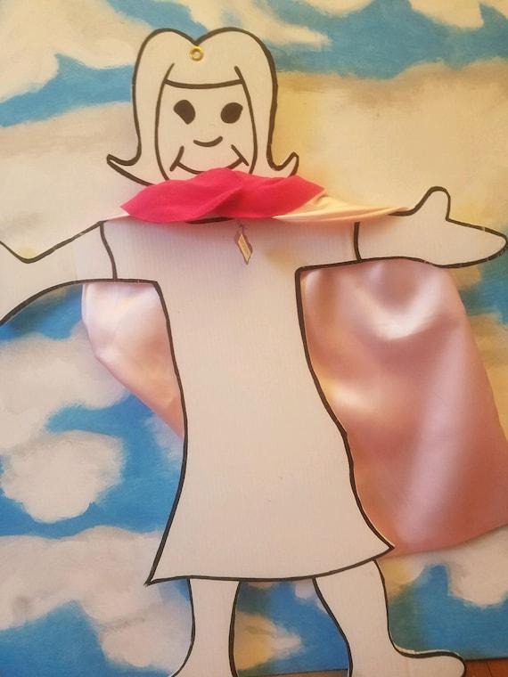 Super Hero Cape Pink Size XS/ 18M/ 24M/ 2T/ 3T/ 4T Costume/ Kids/ Dress Up
