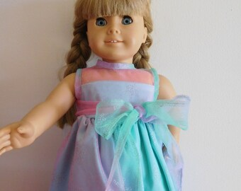 Long Party Dress for 18 inch dolls