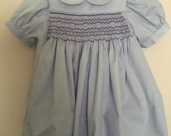 Hand smocked dress --size 2