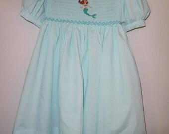 Hand Smocked Dress Size 4