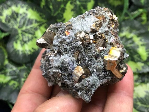 Wonderful Quartz-Sphalerite-Deveti Septemvri  mine-Madan Bulgaria