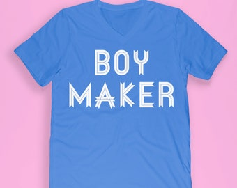 Mom to boy shirt - boy mom shirt - mom life shirt - momlife shirt - boy maker shirt - hashtag mom life - hashtag momlife - momlife vneck