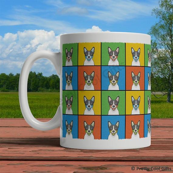 Welsh Terrier Dog Mug Cartoon Pop-Art Coffee Tea Cup 11oz Ceramic