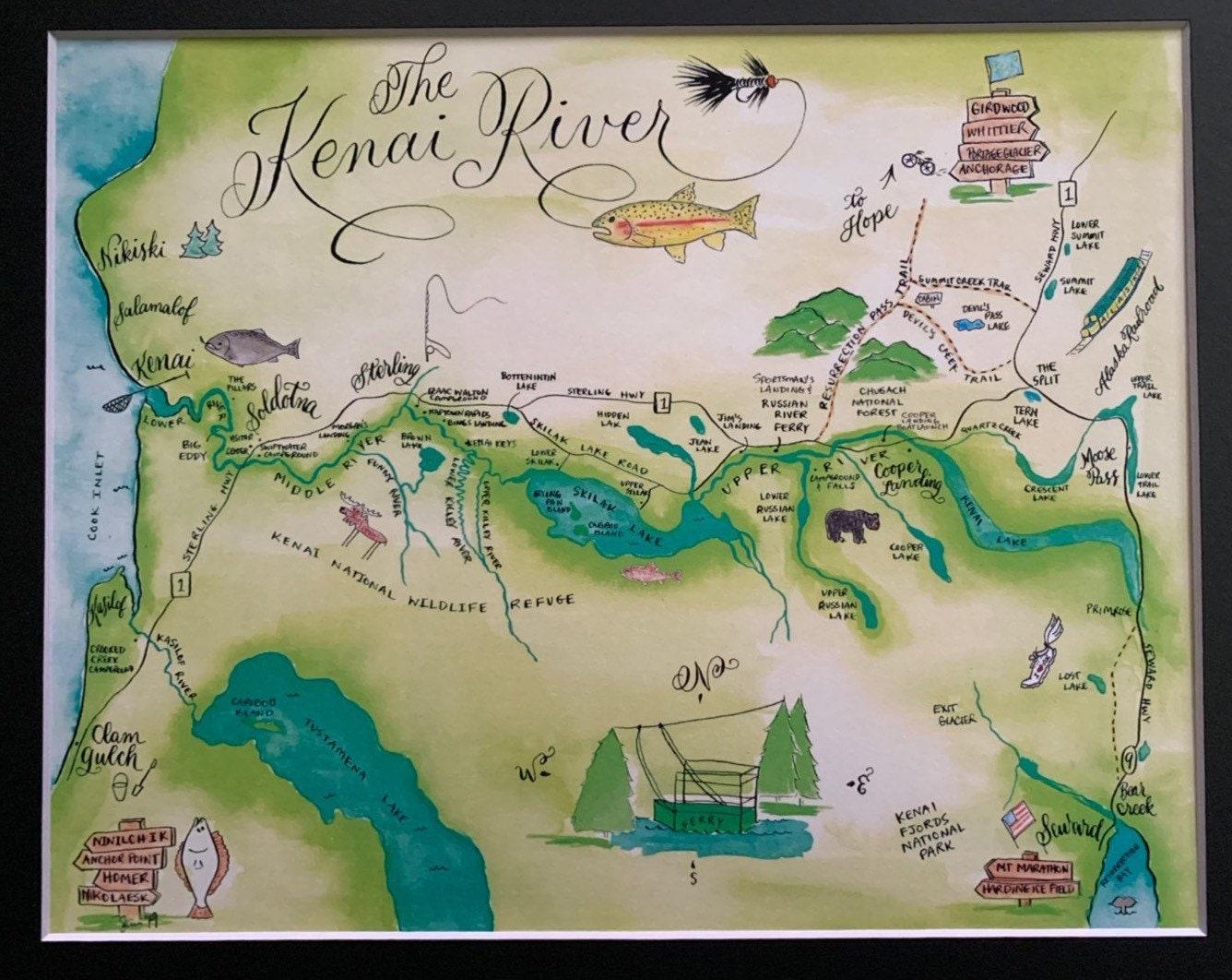 Kenai River Map on trail lakes alaska map, russian river falls trail map, swanson river alaska map, funny river alaska fire map, russian river alaska map, matanuska river alaska map, tustumena lake alaska map, kenai wilderness lodge alaska, alaska peninsula alaska map, mount redoubt alaska map, juneau alaska map, goodnews river alaska map, waterfall resort alaska map, soldotna alaska map, tazlina river alaska map, cooper lake alaska map, nome alaska map, mcneil river alaska map, situk river alaska map, long lake alaska map,