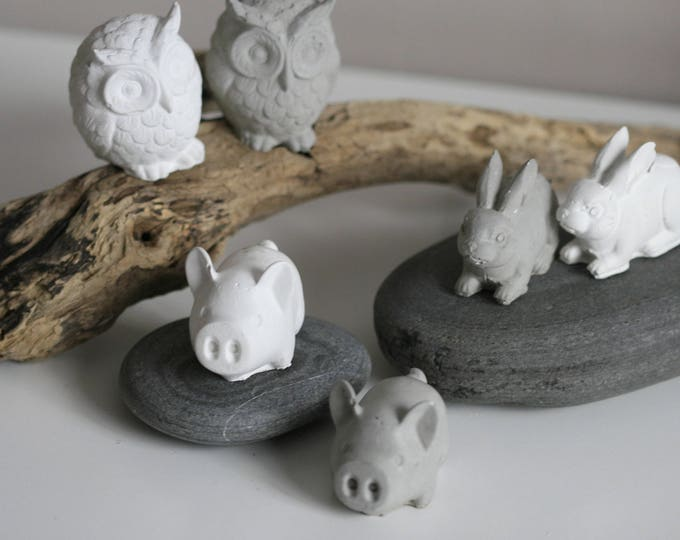 Concrete Animal Figurines | Fundraising