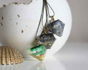 Waves and Shadows Jewellery | Resin Necklace