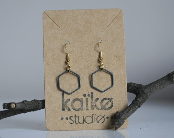 Various Geometric Brass Earrings | Minimalist