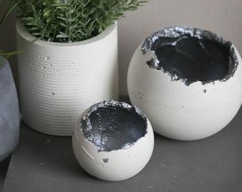 Wabi Sabi Concrete Decorative Sphere