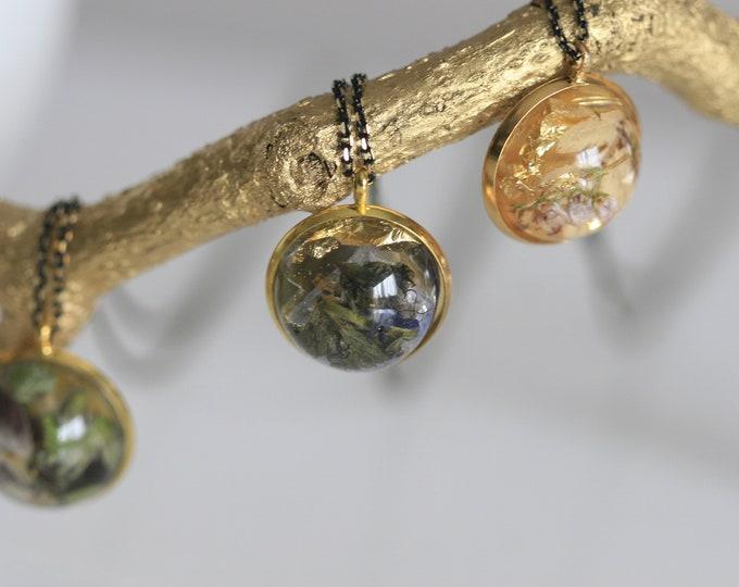 Wicklow Wildplant  Necklace   Botanical Jewellery