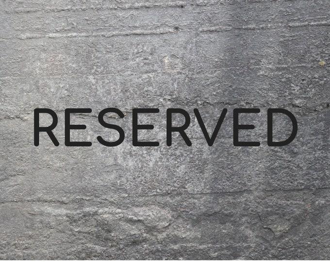 RESERVED FOR KIAN | Decorative Concrete Skull | Concrete Home Accessories | Concrete Homeware | Mystic