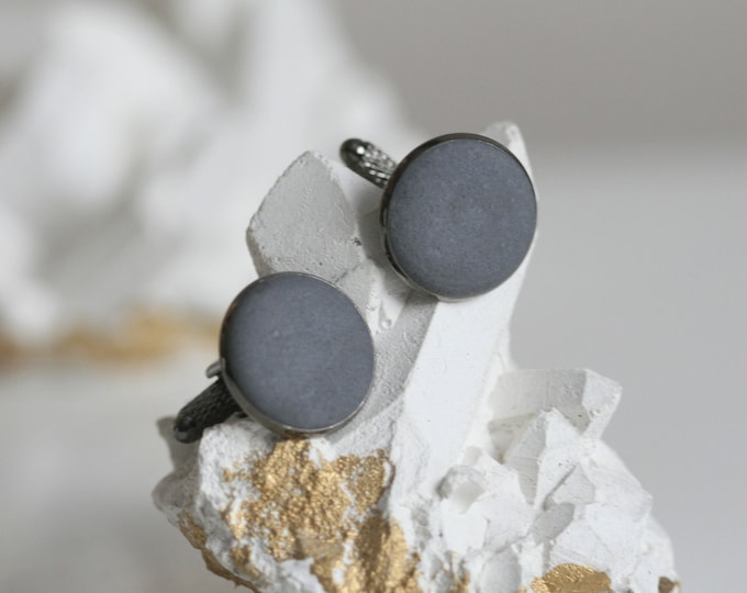 Concrete Cufflinks | Architectural