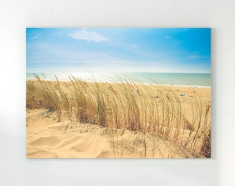 Beach Photography, Wall Art Print, Modern Contemporary, Ocean Water, People, Photo, Printable Large Poster, Digital Download, Coastal Decor